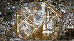 La Tierra vista desde arriba: Aeropuerto Internacional Chicago O'Hare