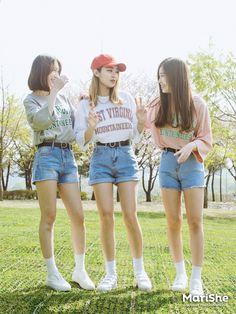 Official Korean Fashion : Korean Fashion Similar Look - Fashion Korean Fashion Trends, Korean Street Fashion, Korea Fashion, Kpop Fashion, Cute Fashion, Asian Fashion, Girl Fashion, Fashion Outfits, Fashion Styles