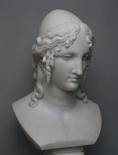 Antonio Canova. Head of Helen of Troy - 1810.   State Hermitage Museum. St. Petersburg, Russia.