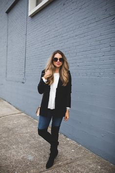 Styling a Tweed Jacket for Fall
