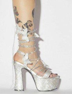 Glitter Heels, Pink Heels, Lace Up Heels, Pink Glitter, Stripper Heels, Rhinestone Heels, Aesthetic Shoes, Hype Shoes, Socks And Heels