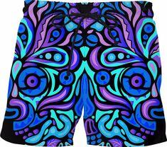 Funny Thundercat Swim Shorts Mens Swimwear Bathing Suit Mesh Lining
