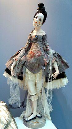 """Международная выставка кукол """"Art of Doll"""" в Гостином дворе. 13.12.2014. Коллекция """"Вниз по кроличьей норе"""". Автор: Алиса Филиппова"""