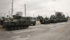 SINIRA ASKERİ SEVKİYAT YAPILMIŞTI Genelkurmay Başkanlığından alınan bilgiye göre, Silopi-Habur bölgesinde tatbikat başlatıldığı, tatbikatla eş zamanlı sınır bölgesinde terörle ile mücadele operasyonlarına devam edildiği bildirildi.    Suriyesınırındaki birliklere takviye olarak gönderilen zırhlı askeri araçlar Hatay'ın Reyhanlı ilçesine ulaştı.   #asker #askeri #askeri tatbikat #haber #habur #savaş #sınır kapısı #suriye #tatbi
