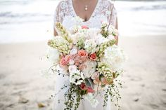 A summer La Jolla beach wedding with Persian details | Melissa McClure Photography: http://www.melissamcclure.com