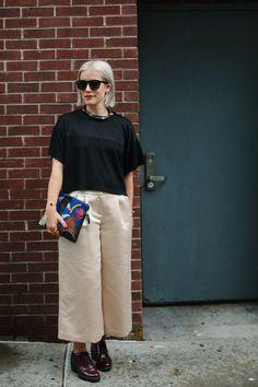 【スナップ】NYファッション・ウィーク真只中 おしゃれニューヨーカーをキャッチ! 135 / 278