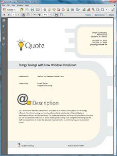 Graphic Designer Sample Proposal  The Graphic Designer Sample