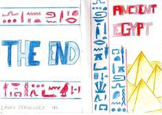 EGIPTO A UN PASO Librillos de investigación en la clase de inglés