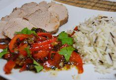 Schweinefilet asiatisch mit Avocado-Mango Salat - Katha-kocht!