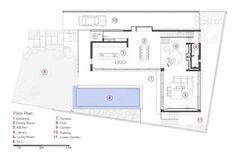 дома в Израиле, особняки в Израиле, особняки в Тель-Авиве, Pazgersh architecture, Design & Michal Keinan, план частного дома, схема дома, обзор домов