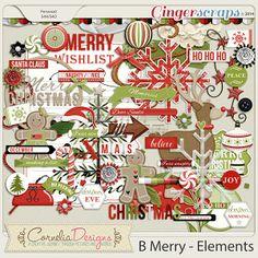 B Merry - Elements by Cornelia Designs