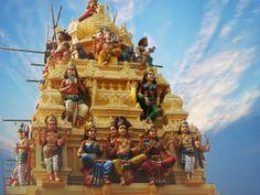 Hindu Temple Kuala Lumpur, Malaysia