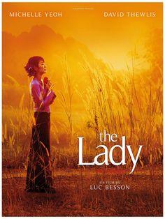 """372. """"the lady"""" de Luc Besson avec Michelle Yeoh, David Thewlis."""