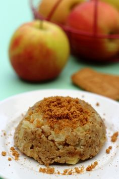 Bowlcake à la pomme et spéculoos