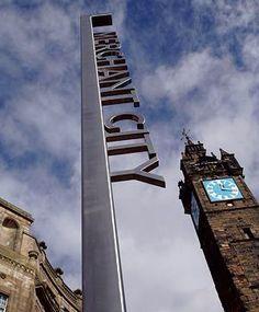 modern signage vertical monument design - Google Search