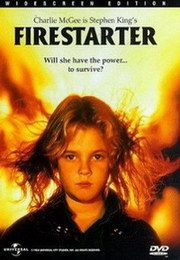 Firestarter - 80's Horror Movies This looks cool. Stephen King It, Stephen King Movies, Steven King, Horror Movie Posters, Horror Movies, 80s Movies, Scary Movies, Great Movies, Awesome Movies
