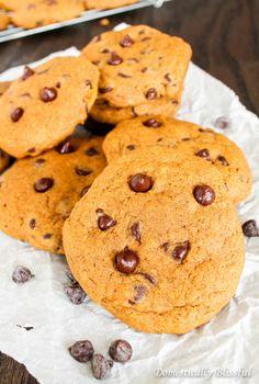Sot Pumpkin Chocolate Chip Cookies source More cake & cookies & baking inspiration!