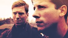 Winters (Damian Lewis) and Liebgott (Ross McCall) <3 Why We Fight