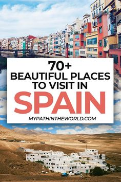 Looking for places to visit in Spain? Check out this ultimate Spain bucket list that will guide you through the country's 17 regions! Spain Travel Guide, Europe Travel Tips, Travel Destinations, Beautiful Places To Travel, Best Places To Travel, Cool Places To Visit, Wallpaper Travel, Portugal, Voyage Europe