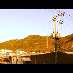 Korea sun set