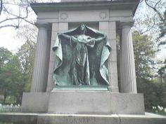 """Clara Bonney Lilley, better known as """"Witch Bonney"""" (more likely fokelore than fact) is buried in Lowell,Ma."""