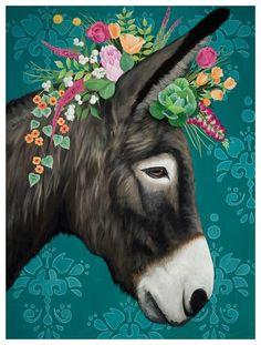 Tatoo Floral, Goat Paintings, Cow Art, Arte Popular, Pics Art, Whimsical Art, Farm Animals, Graphic Art, Canvas Art