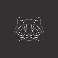 A new Raccoon illustration for fun. Learn how to illustrate like this in my Monoline Illustration class on @skillshare Link in my profile Flat Design, Logo Design, Raccoon Illustration, Minimalistic Logo, Minimalist Drawing, Red Panda, Gd, Printables, Profile