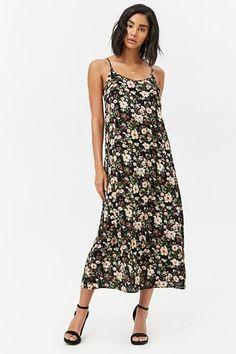 Wildflower Floral Print Maxi Dress