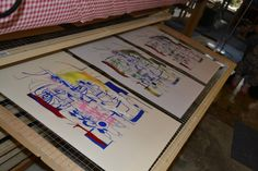 VANDERBACON SUMMER 2014 – Jazz Uil Silk Screen On Paper | VanderBacon