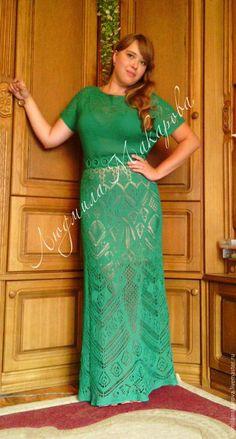 Купить или заказать Платье 'Шетландские кружева' в интернет-магазине на Ярмарке Мастеров. Платье выполнено из итальянского хлопка в технике шетландского кружева. Горловина - лодочка, рукав - летучая мышь. Размер 46-48. вес платья 700г. Платье продается без подклада.