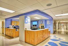Nurse Stations-Healthcare Nationwide Children's Hospital Columbus, Ohio, United States