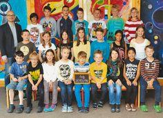offizielles Klassenfoto vor der Versetzung in die 5.Klasse