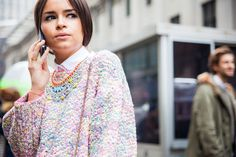 Fifteen Street Style Photos From the Fifth Day of NYFW - NYFW Fall 2013 - Racked National