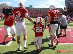 Seven-year-old brain cancer patient Jack Hoffman is making the highlight reels after scoring a touchdown in the Nebraska Huskers spring game.
