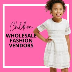 Wholesale Clothing Vendors for Online Boutiques – Online Boutique Center Wholesale Boutique Clothing, Wholesale Fashion, Kids Boutique, Online Boutiques, Fashion Forward, Fashion Brands, Kids Outfits, Kids Fashion, Clothes For Women