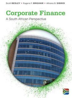 Corporate Finance - A South African Perspective