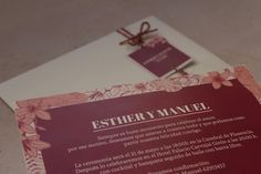 Detalle invitación de boda clásica diseño a medida de invitaciones de boda.