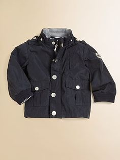 Armani Junior  Infant's Hooded Nylon Jacket  $225
