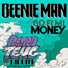 "🇯🇲🇸🇪The Jamaican King Of The Dancehall, Beenie Man ""Go Fi Mi Money"" single cover art by Massa AquaFlow. Handdrawn illustration, coloring by PC.  This single is the first release from the upcoming riddim-album ""Retro Teng Riddim"" by Axxionpack Records (Sweden).  #kingbeenieman #beenieman #slengteng #slengtengriddim #riddim #retroteng #onewayriddim #dancehall #dancehallreggae #reggaedancehall #reggaemusic #reggae #reggaesingle #reggaeart Reggae Art, Reggae Music, Beenie Man, Man Go, Dance Hall, Cover Art, Album Covers, Lion, How To Draw Hands"