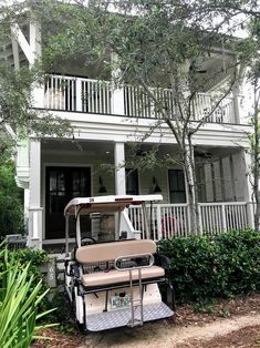 Opt to choose a Watercolor Florida vacation rental home that includes a golf cart for easy transporting to and from the beach. #watercolorfloridavacationrentals Florida Rentals, Florida Vacation, Vacation Spots, Watercolor Florida, Golf Carts, Swimming Pools, Pergola, Outdoor Structures, Beach