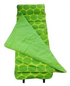 Wildkin Big Dots Green Nap Mat