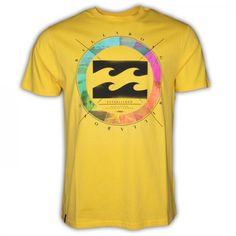 T-Shirt Man COLOUR WHEEL von Billabong