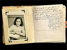 The first page of the diary, which Anne Frank receives for her thirteenth birthday on 12 June Marie Curie, Steve Jobs, Einstein, Anne Frank House, Interesting History, Interesting Stuff, First Page, World History, World War Two