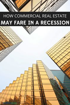 """How Commercial Real Estate May Fare in a Recession. There's an old joke in real estate that when someone asks, """"How's the market?"""" the reply is always """"Which one? Commercial Real Estate Investing, Commercial Property For Sale, Selling Real Estate, Real Estate Quotes, Real Estate Tips, Real Estate Investor, Real Estate Marketing, Commercial Realtor, Becoming A Realtor"""