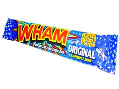 Wham Bars are a retro favourite, they are zingy, sherbet bars with a delicious raspberry flavour. We have almost kept the price retro too!