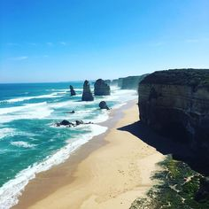 #holiday #melbourne #greatoceanroad #sunny #beach #daytour #12apostles by yoonoru http://ift.tt/1ijk11S