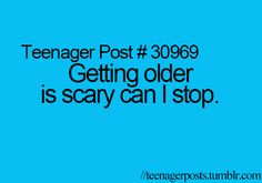 """The lack of punctuation clearly proves that this is a """"teenager"""" thing. I'm slowly dying from this horror"""