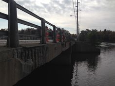 AAM's Mike Mitchell sends in this photo of the Wisconsin Street bridge at Lake George in Hobart, Ind. Built in 1978, this bridge one of the 156,000 bridges in the United States that are considered structurally deficit. #InvestinUS