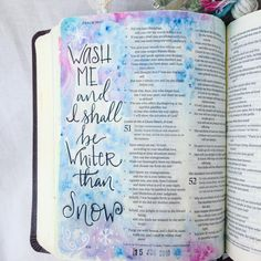 Bible Journaling by @meggiedeehandmade