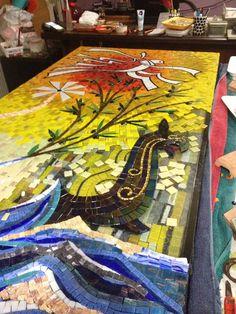 Cam Mozaik Çalışması : Decoración y accesorios de Mozaik Sanat Evi